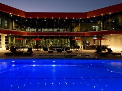 outdoor pool - hotel holiday inn mexico buenavista - mexico city, mexico