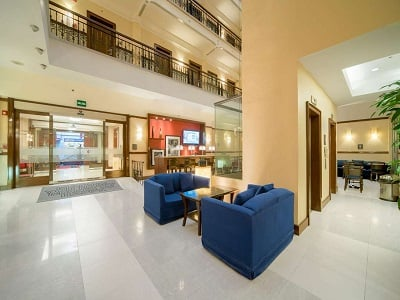 lobby - hotel hampton inn and suites centro historico - mexico city, mexico