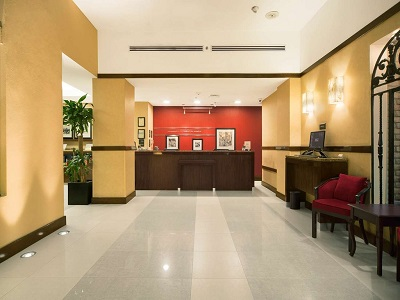 lobby 1 - hotel hampton inn and suites centro historico - mexico city, mexico
