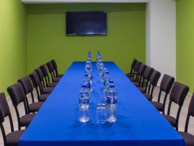 conference room - hotel holiday inn express mexico aeropuerto - mexico city, mexico