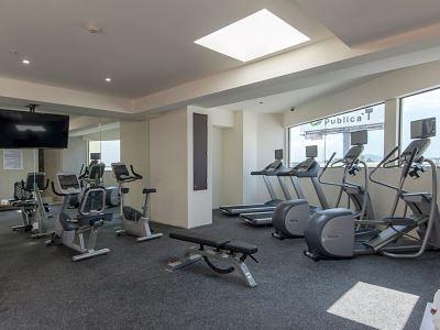 gym 1 - hotel holiday inn express mexico aeropuerto - mexico city, mexico
