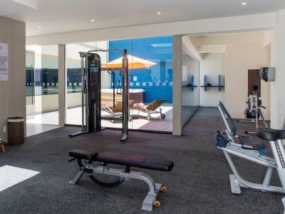 gym 2 - hotel holiday inn express mexico aeropuerto - mexico city, mexico