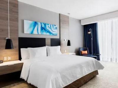 bedroom 1 - hotel hilton garden inn mexico city santa fe - mexico city, mexico
