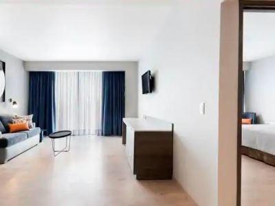 bedroom 2 - hotel hilton garden inn mexico city santa fe - mexico city, mexico