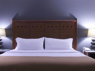 bedroom - hotel holiday inn ciudad de mexico-trade ctr - mexico city, mexico