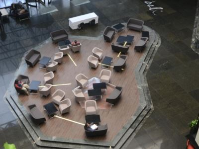 lobby - hotel holiday inn mexico dali airport - mexico city, mexico