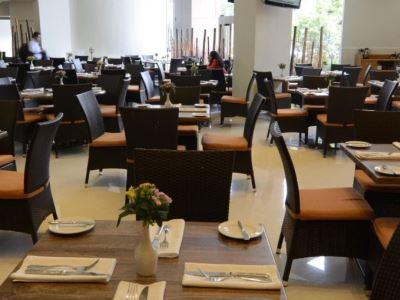 restaurant - hotel holiday inn mexico dali airport - mexico city, mexico