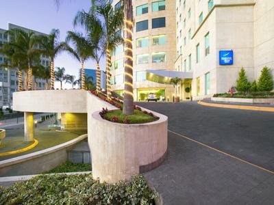 exterior view - hotel novotel mexico city santa fe - mexico city, mexico