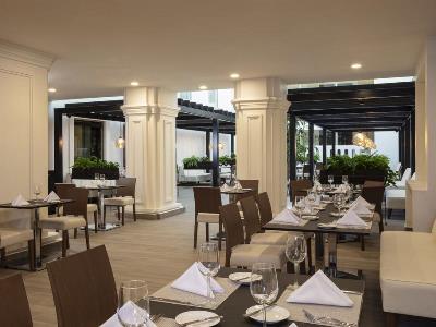 restaurant - hotel doubletree by hilton toluca - toluca, mexico