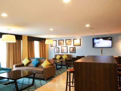 breakfast room 1 - hotel holiday inn express toluca - toluca, mexico