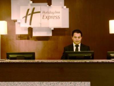 lobby - hotel holiday inn express toluca - toluca, mexico