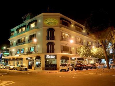 exterior view - hotel jesselton - kota kinabalu, malaysia