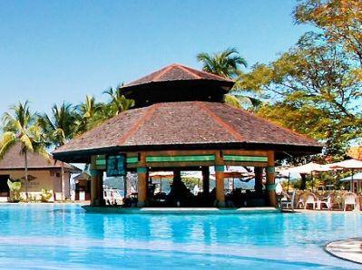 outdoor pool - hotel magellan sutera - kota kinabalu, malaysia