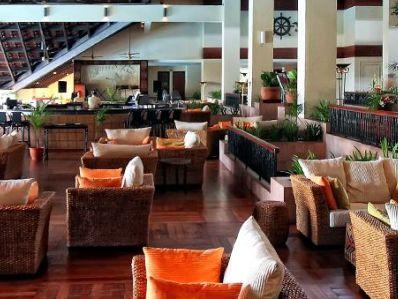 café - hotel magellan sutera - kota kinabalu, malaysia