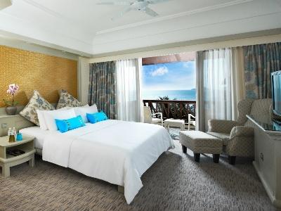 bedroom - hotel pacific sutera - kota kinabalu, malaysia