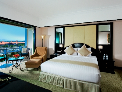 bedroom 1 - hotel pacific sutera - kota kinabalu, malaysia