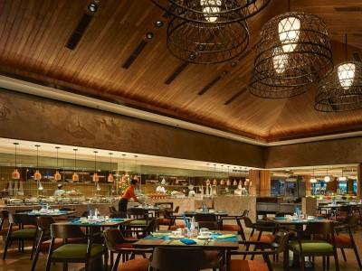 restaurant - hotel shangri-la's tanjung aru - kota kinabalu, malaysia
