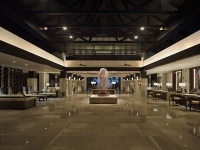 lobby - hotel shangri-la's rasa ria - kota kinabalu, malaysia