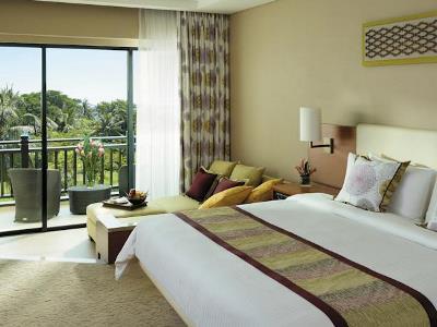 bedroom - hotel shangri-la's rasa ria - kota kinabalu, malaysia