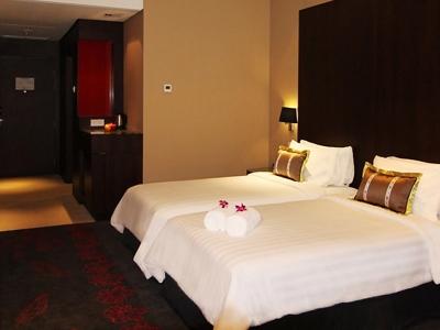bedroom 1 - hotel grandis - kota kinabalu, malaysia
