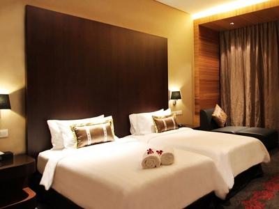 bedroom 2 - hotel grandis - kota kinabalu, malaysia