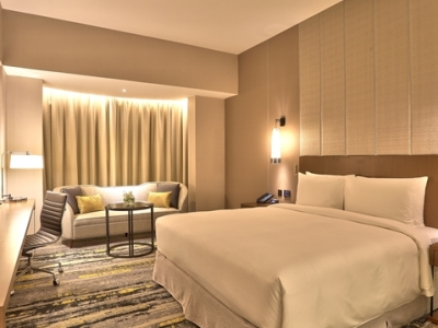 bedroom 3 - hotel hilton kota kinabalu - kota kinabalu, malaysia