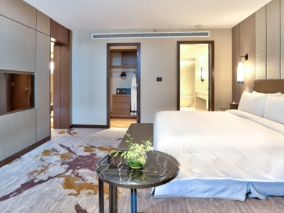 bedroom 1 - hotel hilton kota kinabalu - kota kinabalu, malaysia