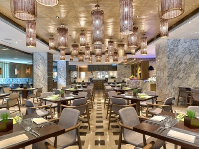 restaurant 1 - hotel hilton kota kinabalu - kota kinabalu, malaysia