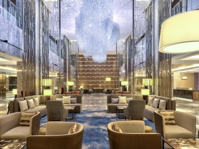 lobby - hotel hilton kota kinabalu - kota kinabalu, malaysia