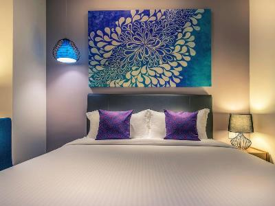 bedroom - hotel mercure kota kinabalu city centre - kota kinabalu, malaysia