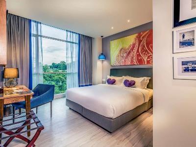 bedroom 1 - hotel mercure kota kinabalu city centre - kota kinabalu, malaysia