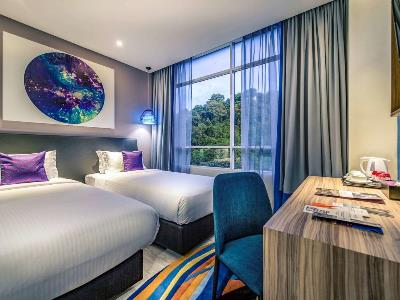 bedroom 2 - hotel mercure kota kinabalu city centre - kota kinabalu, malaysia