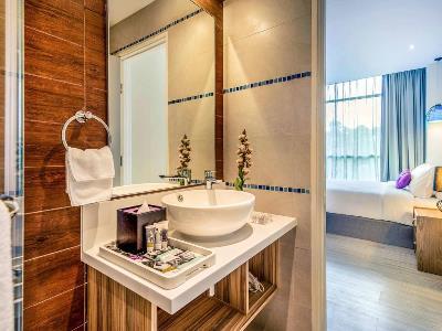 bedroom 5 - hotel mercure kota kinabalu city centre - kota kinabalu, malaysia