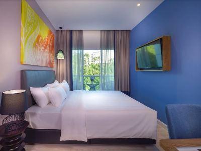 bedroom 6 - hotel mercure kota kinabalu city centre - kota kinabalu, malaysia