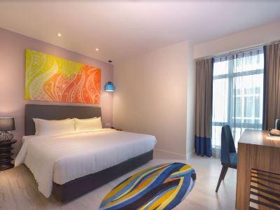 bedroom 11 - hotel mercure kota kinabalu city centre - kota kinabalu, malaysia