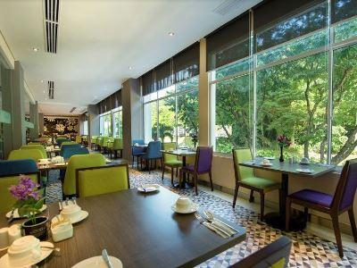breakfast room - hotel mercure kota kinabalu city centre - kota kinabalu, malaysia