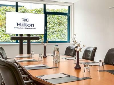 conference room - hotel doubletree by hilton royal parc - soestduinen, netherlands