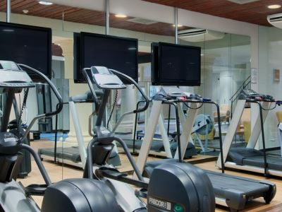 gym - hotel doubletree by hilton royal parc - soestduinen, netherlands