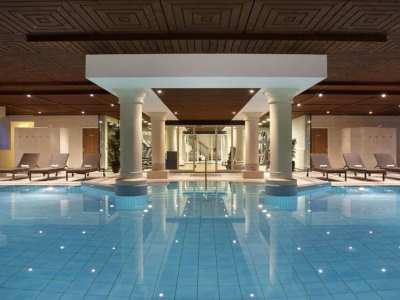 indoor pool - hotel doubletree by hilton royal parc - soestduinen, netherlands