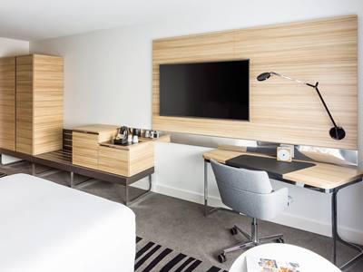 bedroom 2 - hotel novotel amsterdam city - amsterdam, netherlands