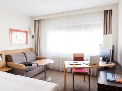 bedroom 4 - hotel novotel amsterdam city - amsterdam, netherlands