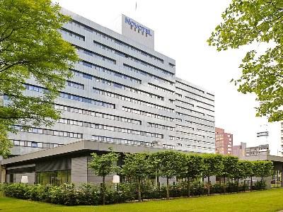 exterior view - hotel novotel amsterdam city - amsterdam, netherlands