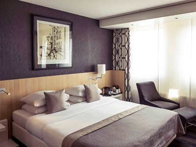 bedroom 1 - hotel mercure amsterdam city - amsterdam, netherlands