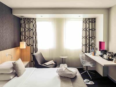 bedroom 2 - hotel mercure amsterdam city - amsterdam, netherlands