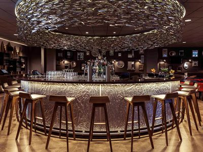 bar - hotel mercure amsterdam city - amsterdam, netherlands