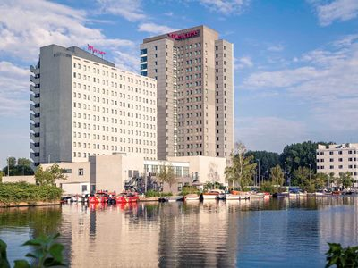 exterior view - hotel mercure amsterdam city - amsterdam, netherlands