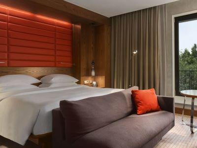bedroom - hotel hilton the hague - the hague, netherlands