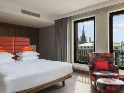 bedroom 1 - hotel hilton the hague - the hague, netherlands