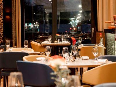 restaurant - hotel hilton the hague - the hague, netherlands