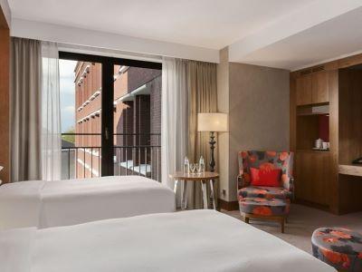 bedroom 2 - hotel hilton the hague - the hague, netherlands